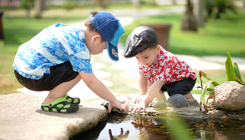 Five games to play with your kids in the garden